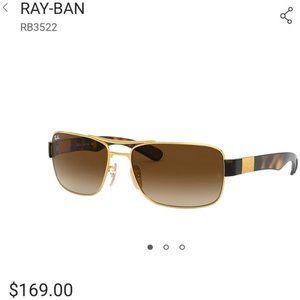 Ray-Ban RB3522 sunglasses NEW LENSES